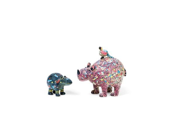 Rosemarie Benedikt, 'Hippo and Rhino', 1978/1988, Galerie Kovacek & Zetter