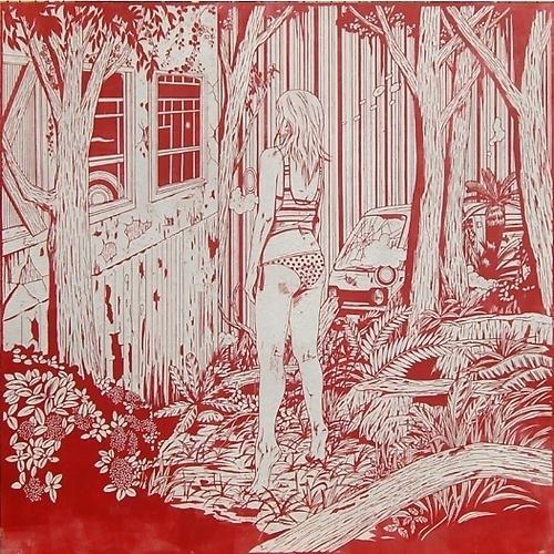 , 'Dreamy Gaze (Girl Looking in the Ghost House),' 2008, Mark Moore Fine Art
