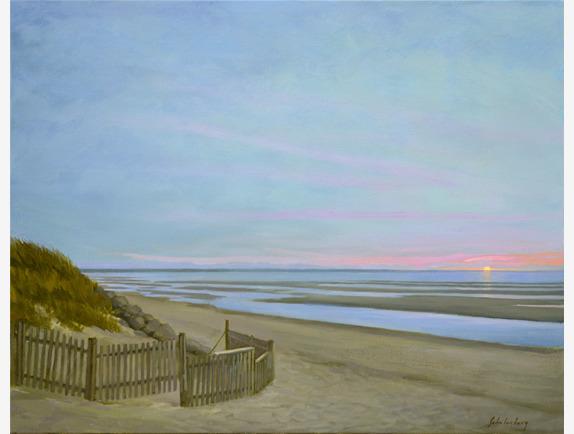 Paul Schulenburg, 'Sunset on the Bay ', Addison Art Gallery