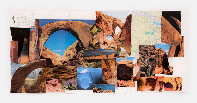 Simone Fattal, 'La Terra Trema', 2020, Drawing, Collage or other Work on Paper, Collage, Galerie Hubert Winter