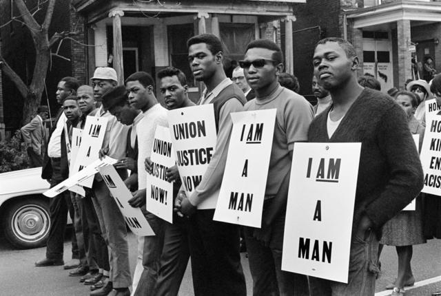 , 'I Am a Man/Union Justice Now, Memphis, TN,' 1968, Arnika Dawkins Gallery