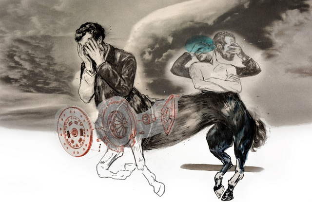 , 'Centaure,' 2016, Kristin Hjellegjerde Gallery