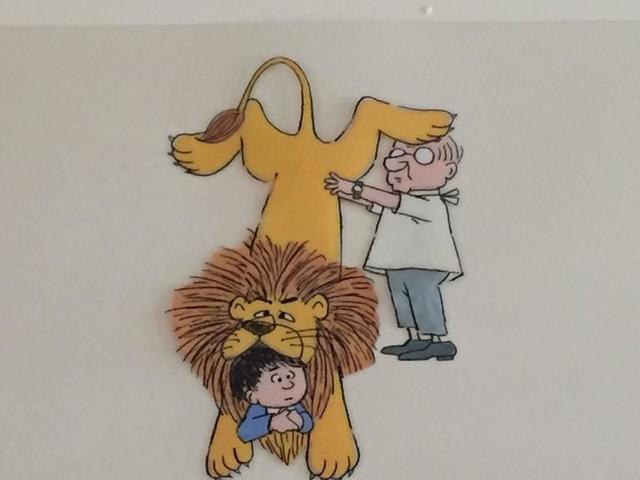 """Maurice Sendak, 'Original Animation Cel from PIERRE, """"I DONT CARE"""" (CBS 1970s)', 1970-1979, Lions Gallery"""