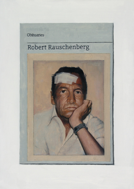 , 'Obituary: Robert Rauschenberg,' 2015, Charlie Smith London