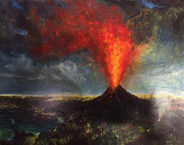 Chester Arnold, 'Eruption in Paradise', 2017, Catharine Clark Gallery