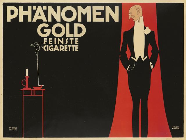 Julius Klinger, 'Phänomen Gold', 1909, Rennert's Gallery
