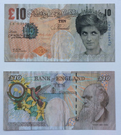 Banksy, 'Di-Faced Tenner', 2005, End to End Gallery