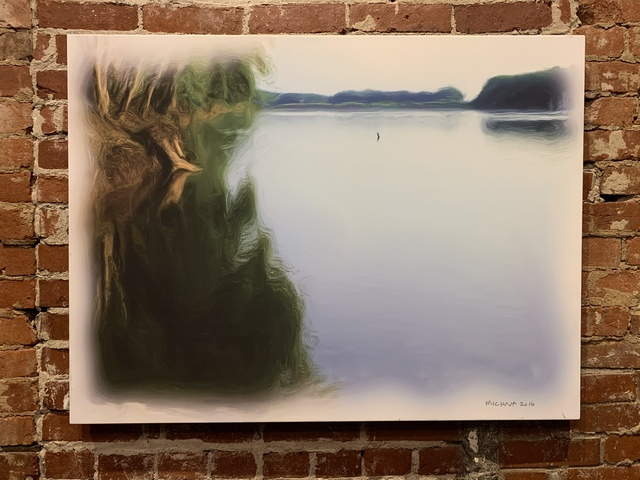 , 'Wabash River New Harmony,' 2016, Mason-Nordgauer Fine Arts Gallery