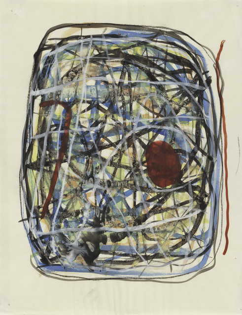 , 'Untitled,' 1952-1953, Peggy Guggenheim Collection