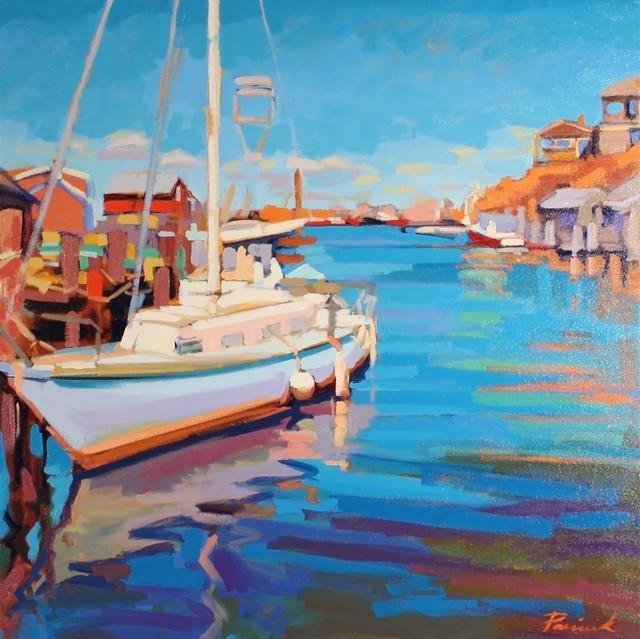 , 'Morning Docking,' , LaMantia Fine Art Inc.