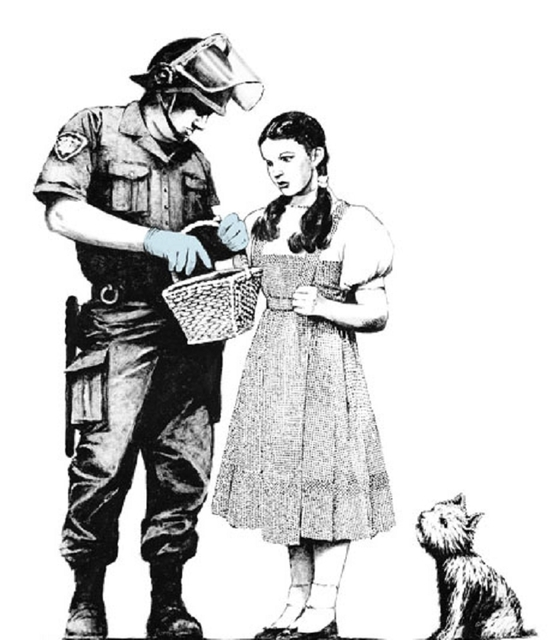 Banksy, 'Stop and Search', 2007, Taglialatella Galleries
