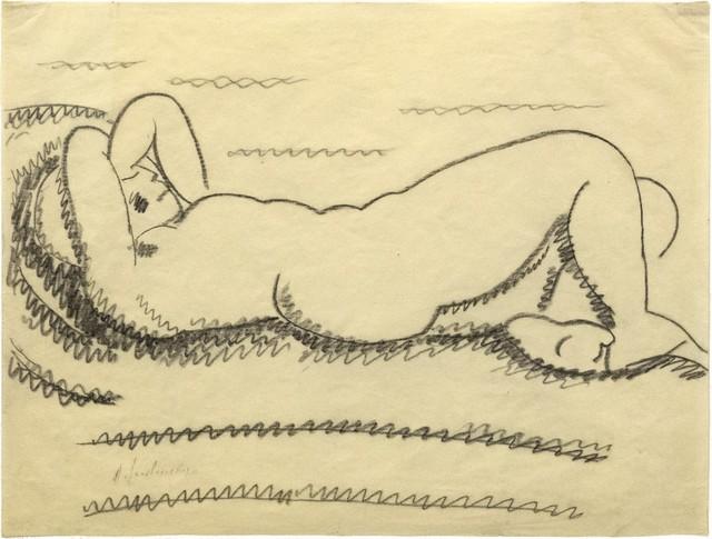 Alexej von Jawlensky, 'Reclining woman', 1912, Galerie Thomas
