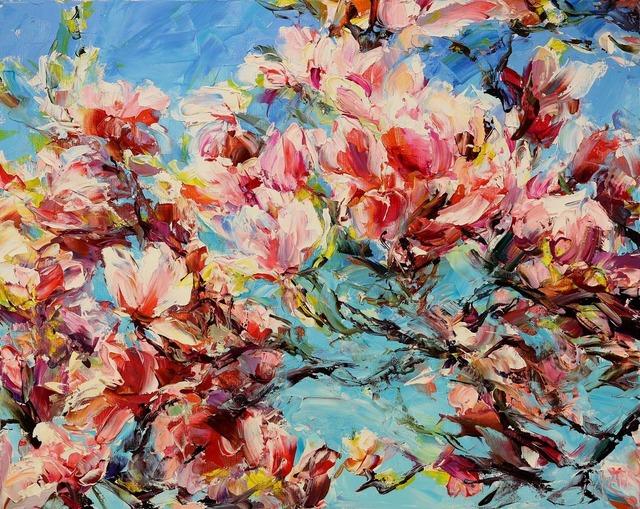 Lyudmila Agrich, 'Against the Blue', 2017, Mirada Fine Art