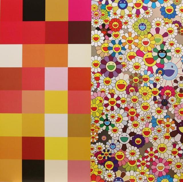 Takashi Murakami, 'Acupuncture Flowers', 2011, Vogtle Contemporary