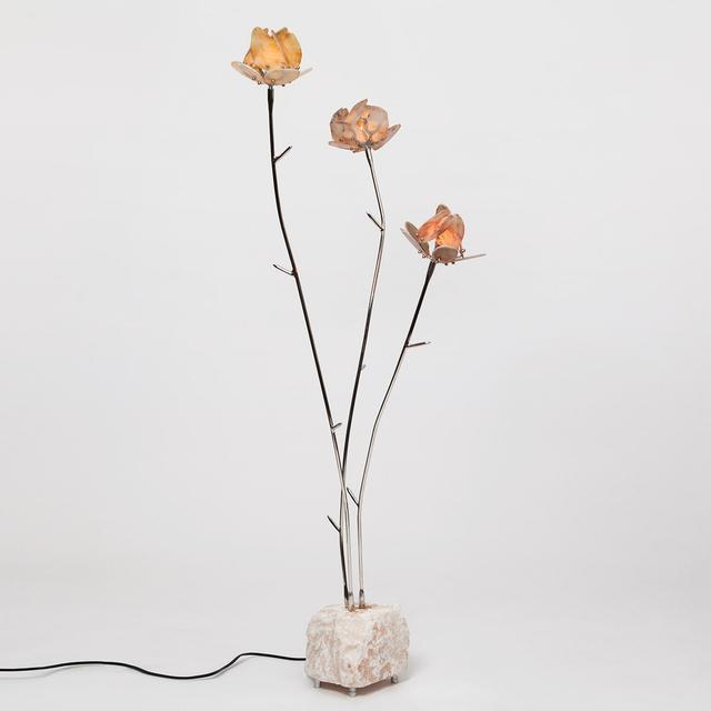 , 'Stone Rose Floor Light,' 2019, The Future Perfect