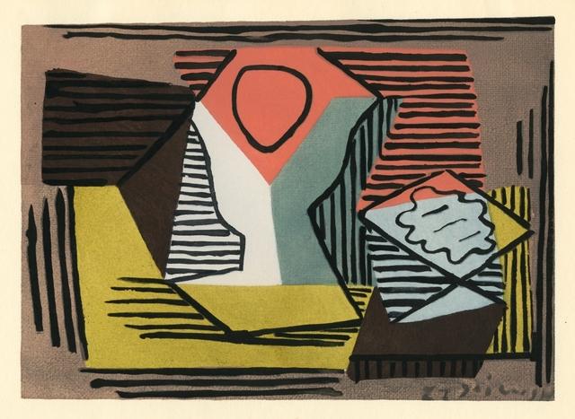 Pablo Picasso, 'Peinture', 1929, Reproduction, Pochoir - Stencil Print, Hans den Hollander Prints