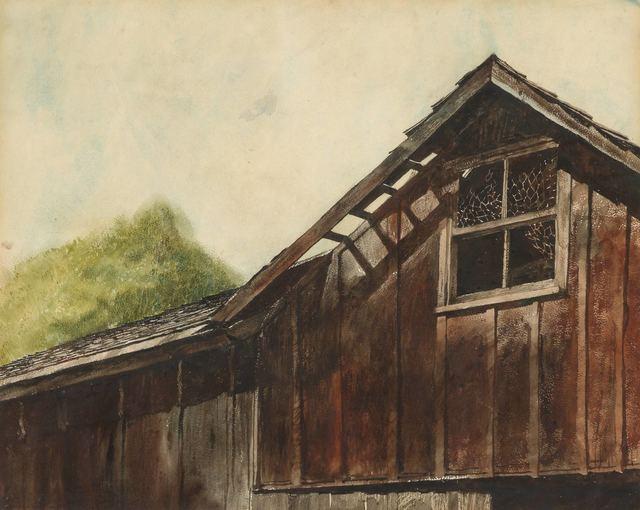Jamie Wyeth, 'Barn Roof', Doyle