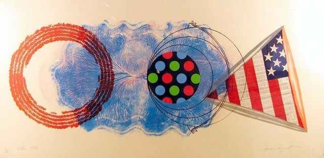 James Rosenquist, 'Elbow Lake', 1977, Print, Silkscreen, Contessa Gallery