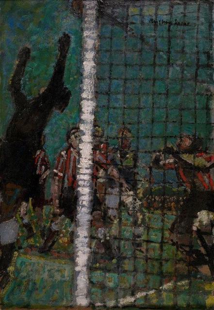 , 'The Football Match,' , Christopher Kingzett Fine Art