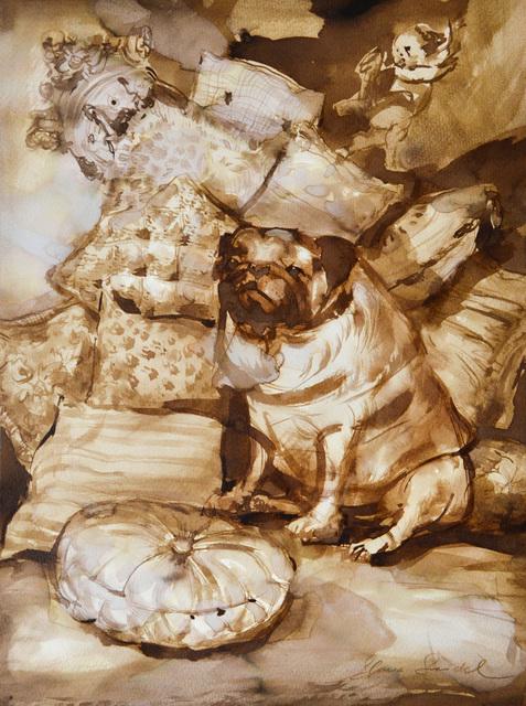 , 'Hundeträume 5,' 2018, Joerg Heitsch Gallery