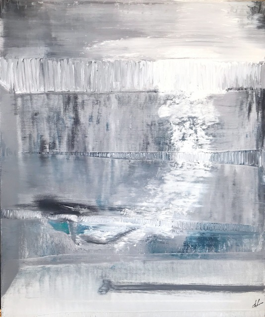 , 'Diving,' 2018, {9} The Gallery