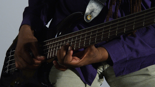 , 'Melvin Gibbs, Electric Bass Guitar,' 2014, bitforms gallery
