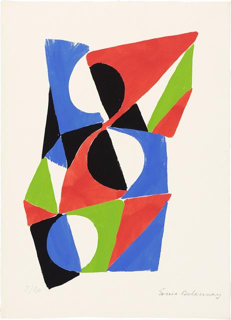 Sonia Delaunay, 'Les Illuminations', 1973, Doyle