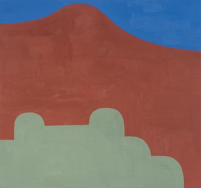 , 'FIELD OBJECT GREEN,' 2018, Gallery Fritz