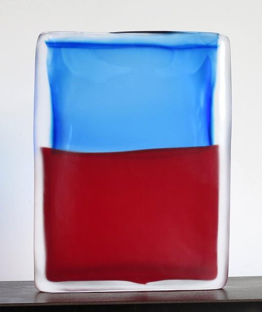 , 'Tokyo-Ga (Blue Aqua - Red),' 2017, James Barron Art