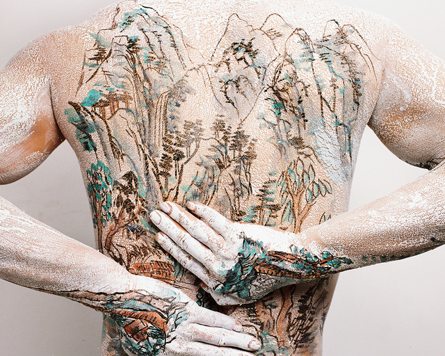 , 'Chinese Shan-shui Tattoo Series 2 No.2,' 1999, Leo Gallery