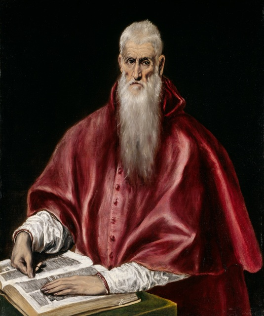 , 'Saint Jerome as a Scholar,' ca. 1610, The Metropolitan Museum of Art
