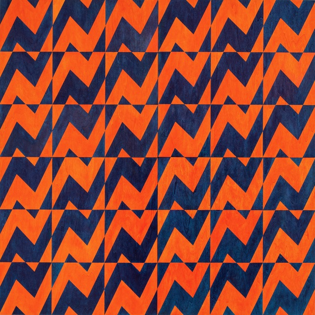 , 'Untitled (orange/blue),' 2017, JGM Gallery