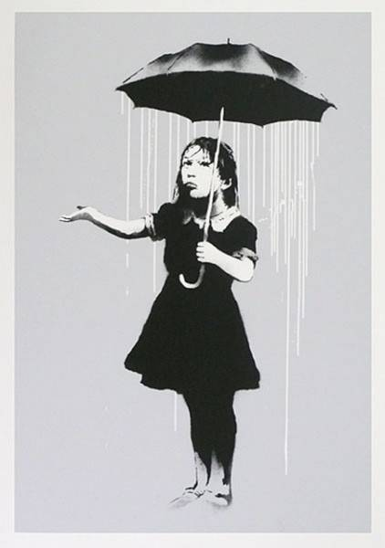 Banksy, 'NOLA - White Rain', 2008, Art Angels