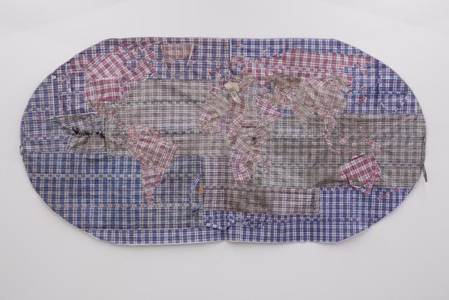 Dan Halter, 'Rifugiato Mappa del Mondo,' 2013, WHATIFTHEWORLD