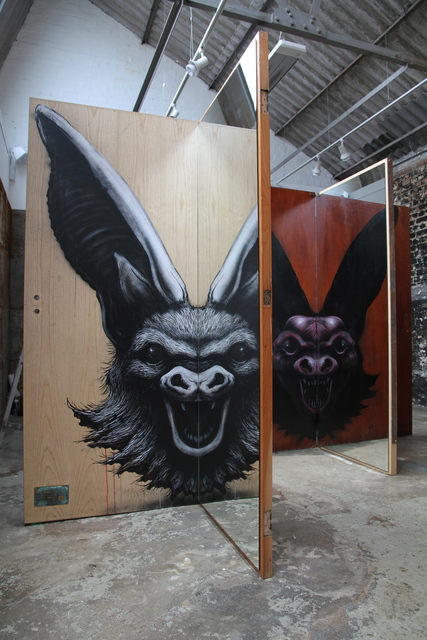 , 'Osborn Bat Installation,' 2014, StolenSpace Gallery
