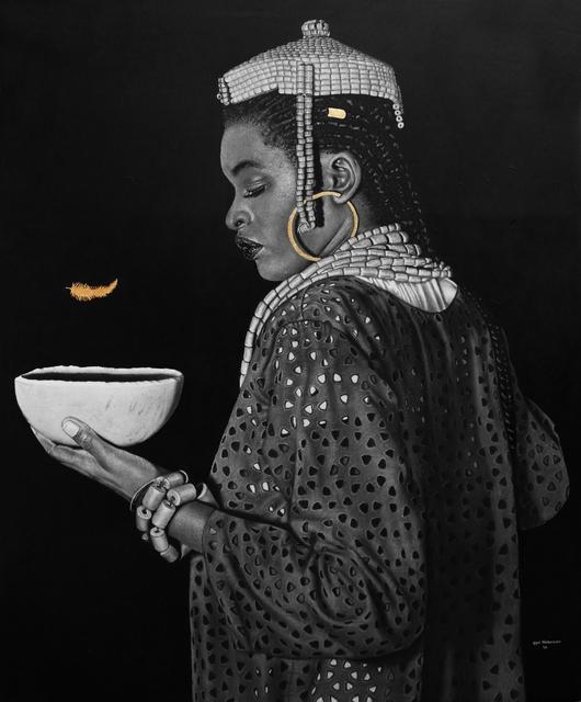 , 'HRM Pere of Isaba Kingdom,' 2018, Artyrama (Nigeria)