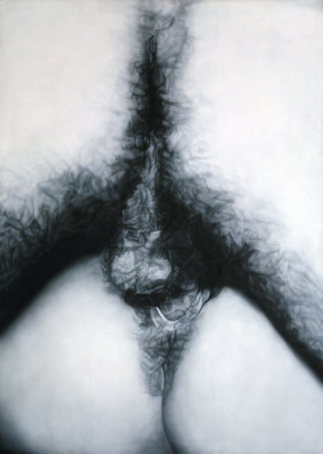 , 'Fuck painting #9,' 1974, Galerie Andrea Caratsch