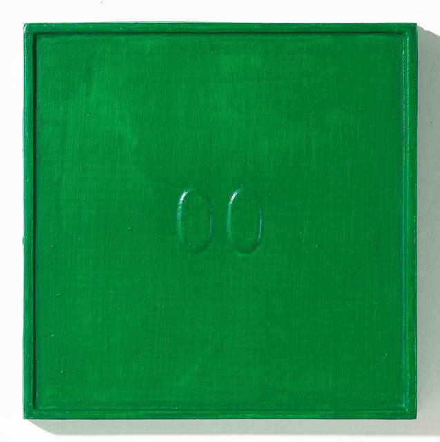 , '2 ovali verdi,' 1967, Dep Art
