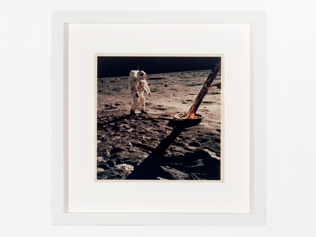 , 'Aldrin near the north footpad,' 1969, Patrick Parrish Gallery