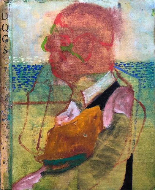 , 'Head of Man on the Train - (Passenger),' 2018, Tatha Gallery