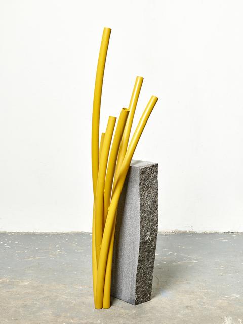 , 'Cut Off 1 (yellow),' 2017, Tyburn Gallery