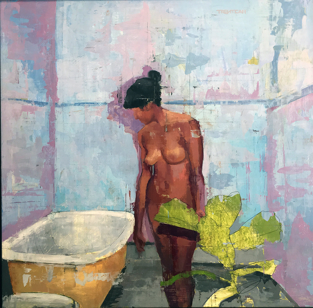 , 'Bather I,' 2017, Gallery 19