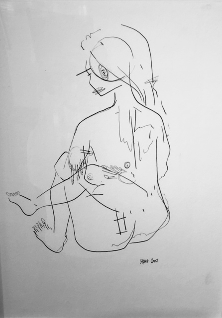 , 'Sitting Nude,' ca. 2019, M Contemporary Art