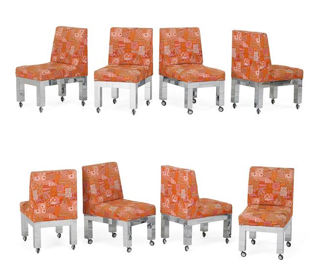 Paul Evans, 'Paul Evans Dining Chairs', 1970s, Rago