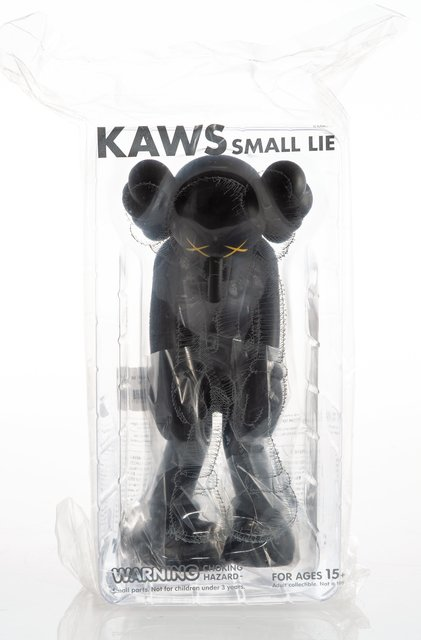 KAWS, 'Small Lie (Black)', 2017, Heritage Auctions