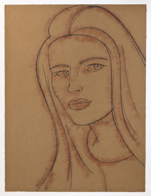 Alex Katz, 'Portraits: Yvonne', 2002, Print, Soft-ground etching, Betsy Senior Fine Art