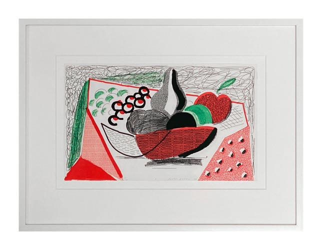 David Hockney, 'Apples Pears & Grapes', 1986, ARCHEUS/POST-MODERN