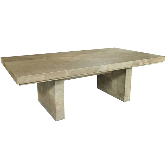 , 'Parchment Clad Dining Table,' Mid 20th Century, Galerie XX