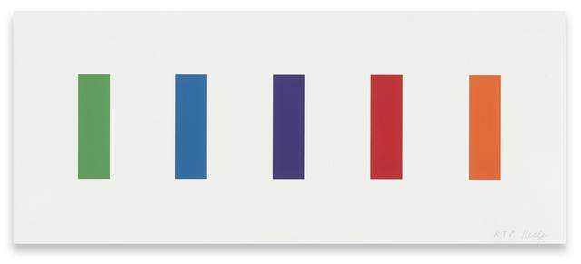, 'Color Panels,' 2011, Gemini G.E.L. at Joni Moisant Weyl