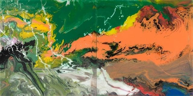 Gerhard Richter, 'Flow (P15)', 2016, Riva di Morcote Fine Arts